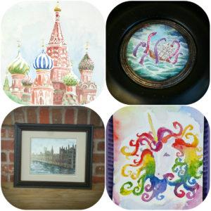Mini&FullSized paintings